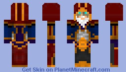 The Royal Archmage Minecraft Skin