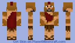 Ares: Greek God of War Minecraft Skin
