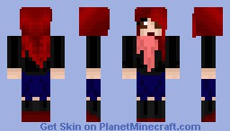 Ariana Grande (Original) [Better on person/in preview] {3D HAIR!} From Bike Photoshoot Minecraft Skin