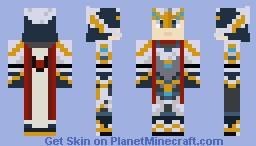 Armadyl Armor + HP Skillcape Minecraft Skin