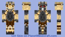 Armored Madman Minecraft Skin