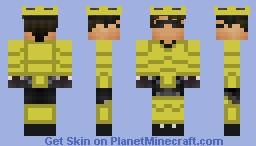 Armored Sky Minecraft Skin