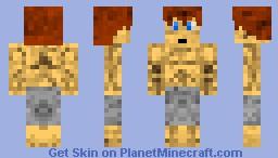 Arnold Schwarzenegger (Body Builder) Minecraft Skin