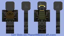 Artyom from Metro: Last Light Minecraft