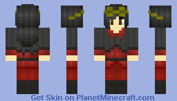Asami- Ledgend of Korra Skin series :3w Minecraft