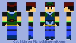 Ash Ketchum (Hoenn) Minecraft Skin