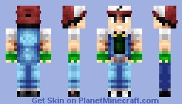 Ash Ketchum Minecraft Skin