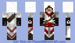 Assassin's Creed Inspired Assassin- Shaded Minecraft Skin