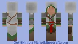 Shadow's legendary armor Minecraft Skin