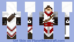 Assassin's Creed inspired Assassin Minecraft Skin