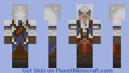 Assassin's Creed 3 'Connor' Minecraft Skin