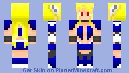 Sora no Otoshimono Astrea Minecraft Skin
