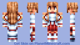 Asuna from Sword Art Online Minecraft