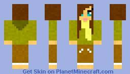 Girl #3 Minecraft Skin