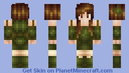 Maple: The Personification of Autumn Minecraft Skin