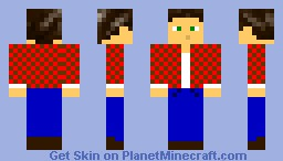 Awesome skin (maybe not that awesome) Minecraft Skin