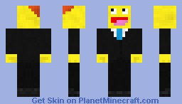 Awesome Guy in suit. Minecraft Skin