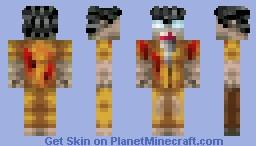 Black Ops 2 Zombie Minecraft Skin