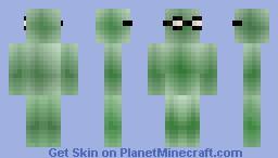 SLIME BEAST (nerd) Minecraft Skin