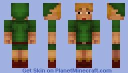 Ben Drowned Minecraft Skin