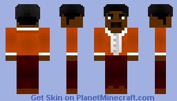 BLACK DYNAMITE Minecraft Skin