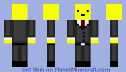 Boss Lemon Man Minecraft Skin