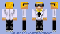 Cool, Boss, Guy Minecraft Skin