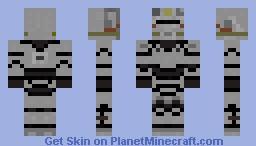 Brotherhood Of Steel T-51B Fallout Minecraft Skin