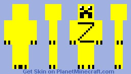 Butter creeper Minecraft Skin