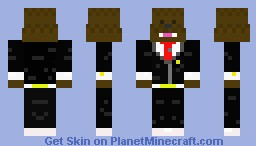 Bacca in a suit Minecraft Skin