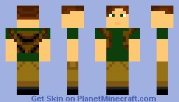 Backpack Guy (or explorer ^.^) Minecraft Skin