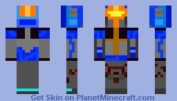 Full Metal Jayce Minecraft Skin