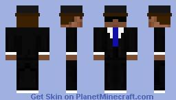 The BadAss Buisness Man Minecraft Skin
