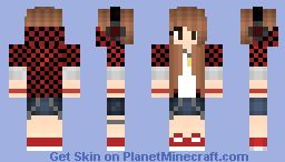 SeriousUsername Bajancanadian girl skin Minecraft Skin
