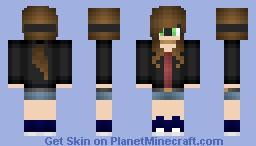 Bandit girl Minecraft Skin