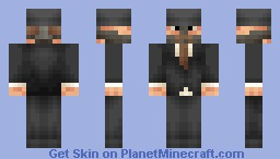 Bane the Gentleman [Batman] Minecraft Skin