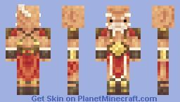 Santa the Barbarian [+ bonus Rudolf skin!!] Minecraft Skin