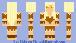 Barbarian Woman (Better In Preview) Minecraft Skin