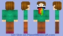 The Man Who Barfed a Thousand Rainbows [RustyTurkeyBrain's Contest] Minecraft