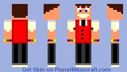 Candy Land Man Minecraft Skin