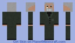 Baron Haroall with his Monocle Minecraft Skin