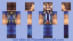 Jetpack Joyride - Barry Minecraft Skin