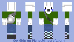 Holiday: Barry The GhastFellow: No Presents Edition Minecraft Skin