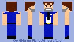Barry Steakfries [As seen in Jetpack Joyride] Minecraft Skin