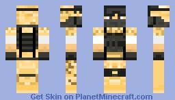 Battlefield 3 Desert Minecraft Skin