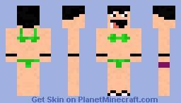 Beach Guy Minecraft Skin