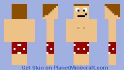 Swimming trunks Minecraft Skin