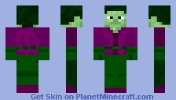 Beast Boy Minecraft Skin