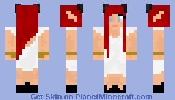 Elf woman- Balzfik clan Minecraft Skin
