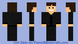 BebopVox 'Dont mine at night' Minecraft Skin